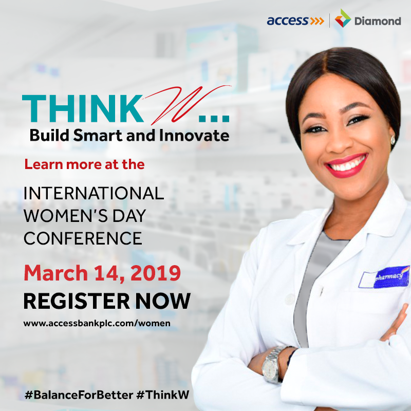 Build Smart and Innovate as Access Bank and Diamond Host International Women's Day Conference.