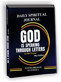 GOD IS SPEAKING THROUGH LETTERS.